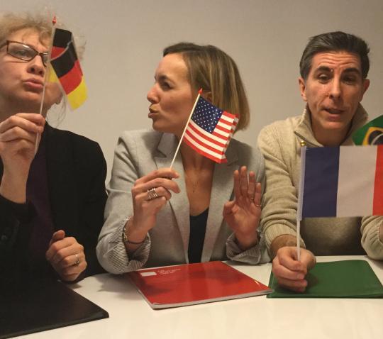 Multi-cultural team management